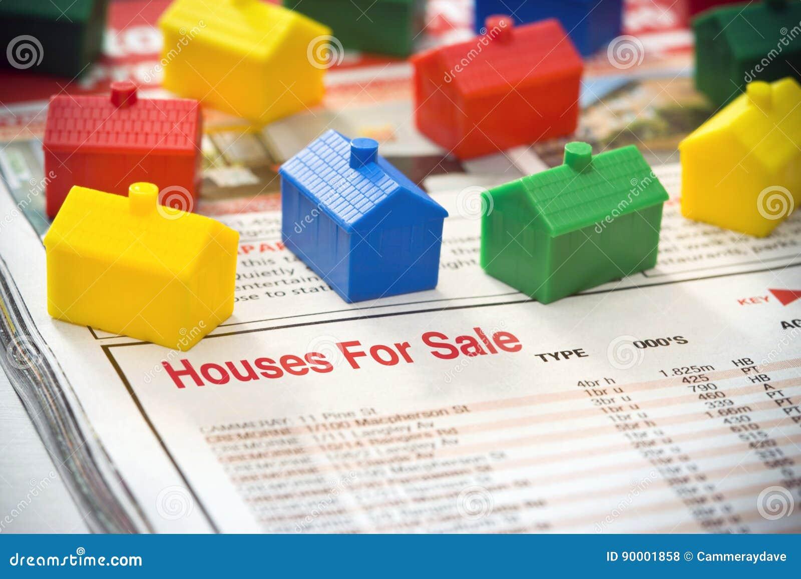 Houses försäljning