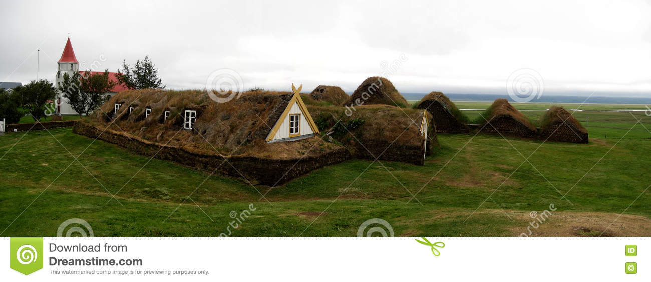 Houses icelandic traditionell torva