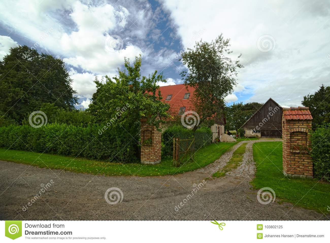 Houses listed as monuments in Kirchdorf, Mecklenburg-Vorpommern, Germany