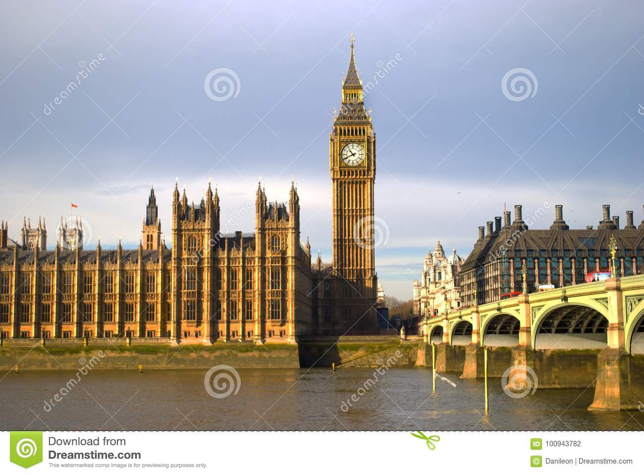 Houses Of Parliament London Stock Photo Image Of Lords Kingdom