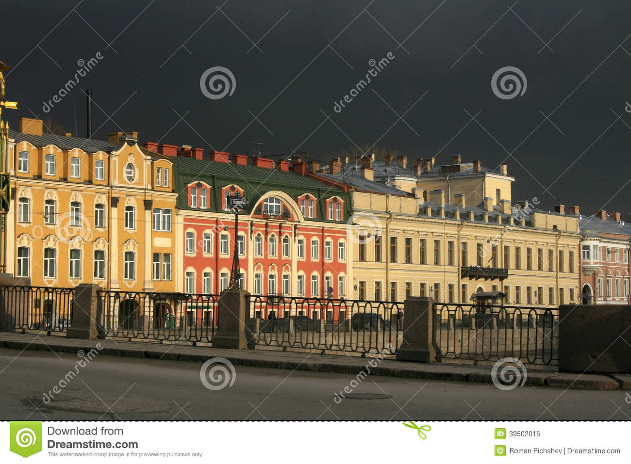 Houses of Petersburg