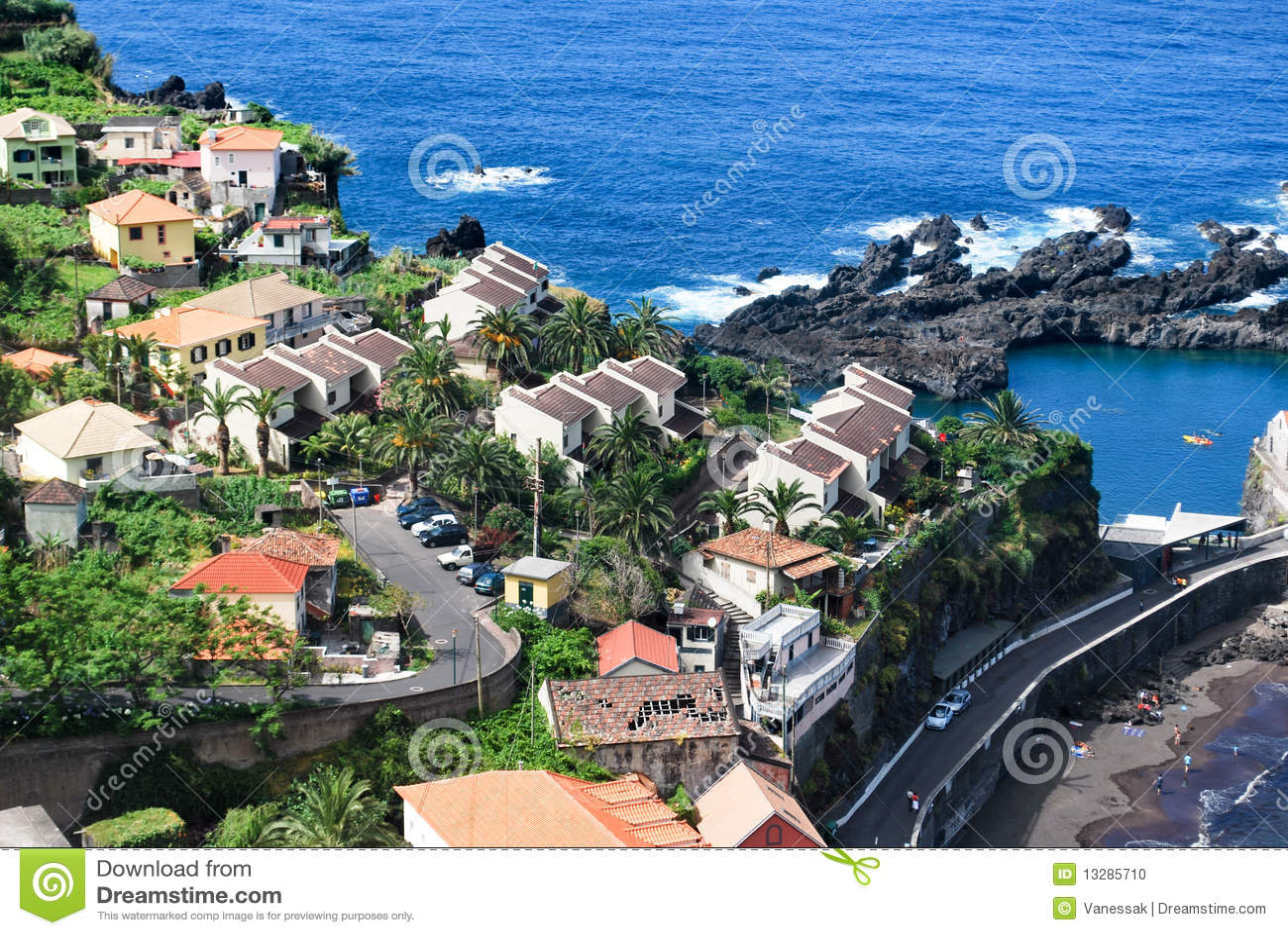 The houses of Porto Moniz