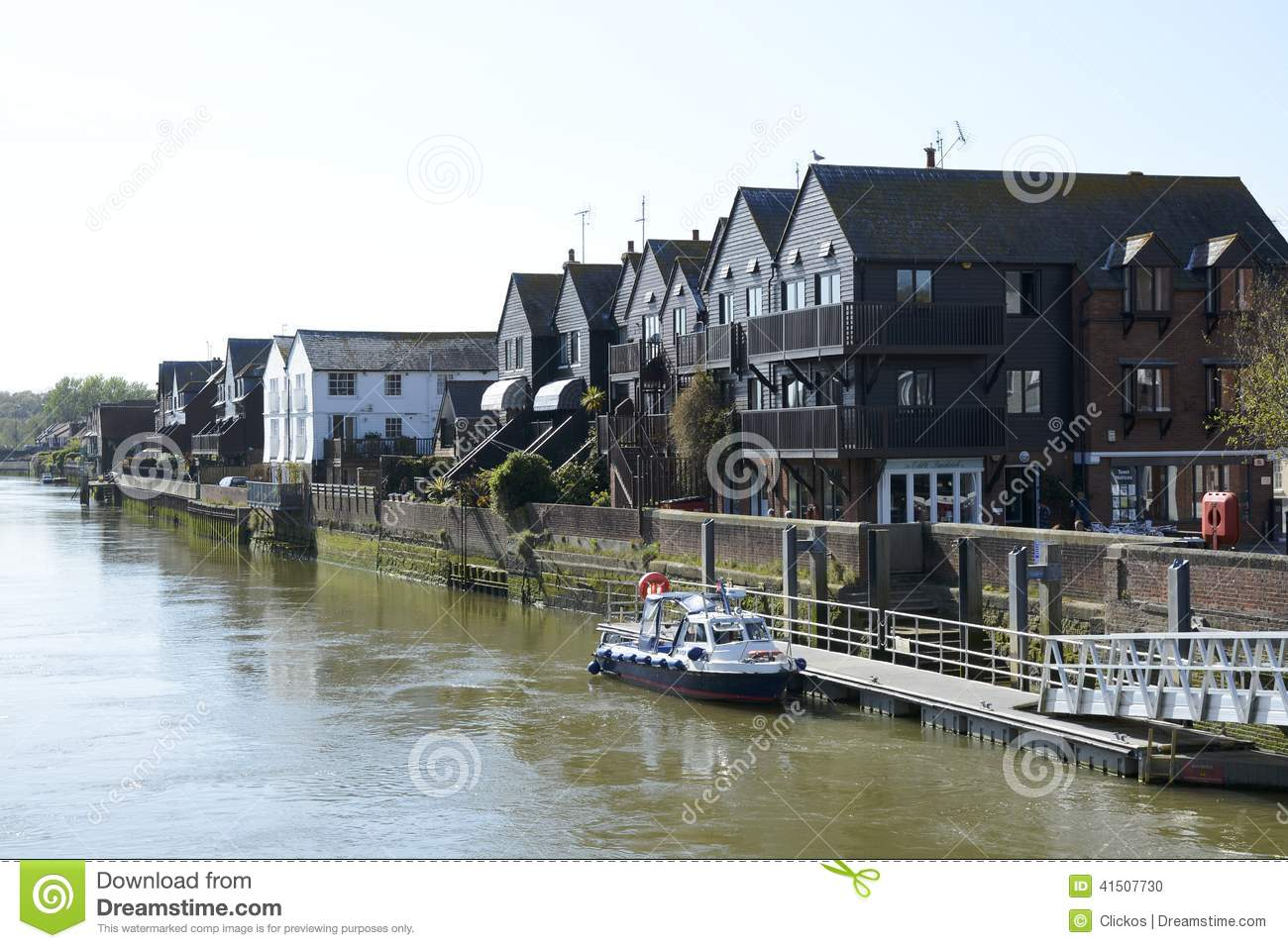 Waterside Appartments Houses By River Arun Arundel England