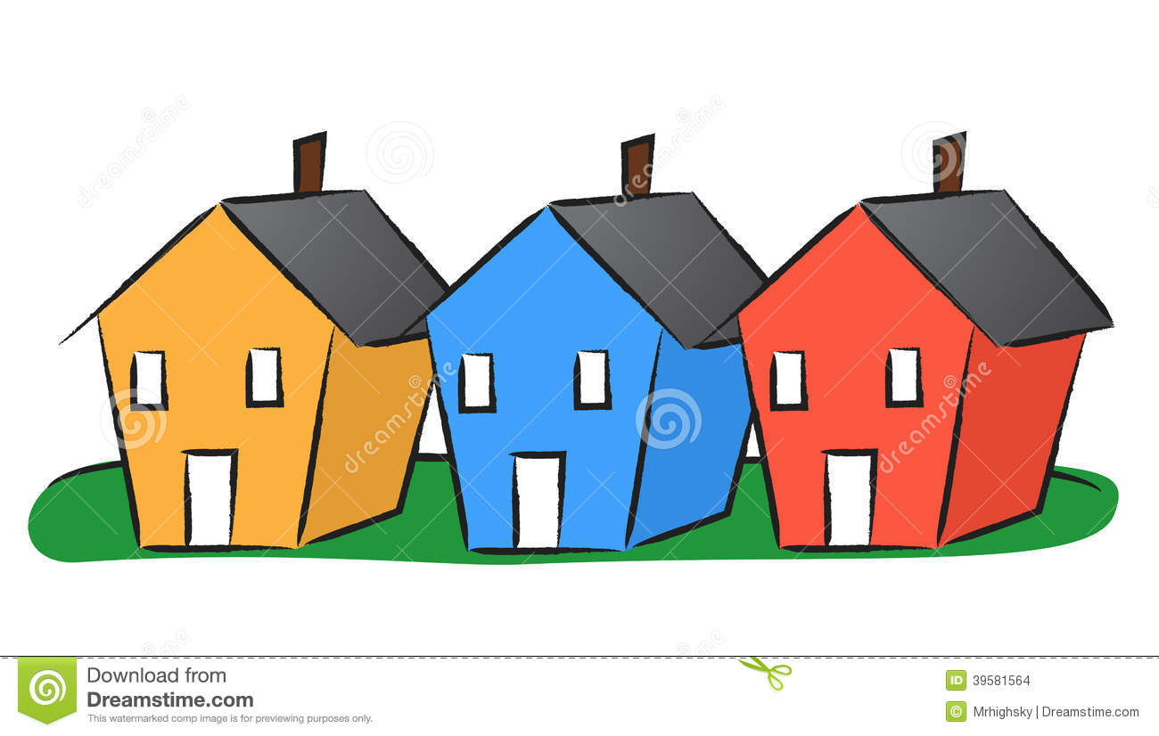 Houses In A Row