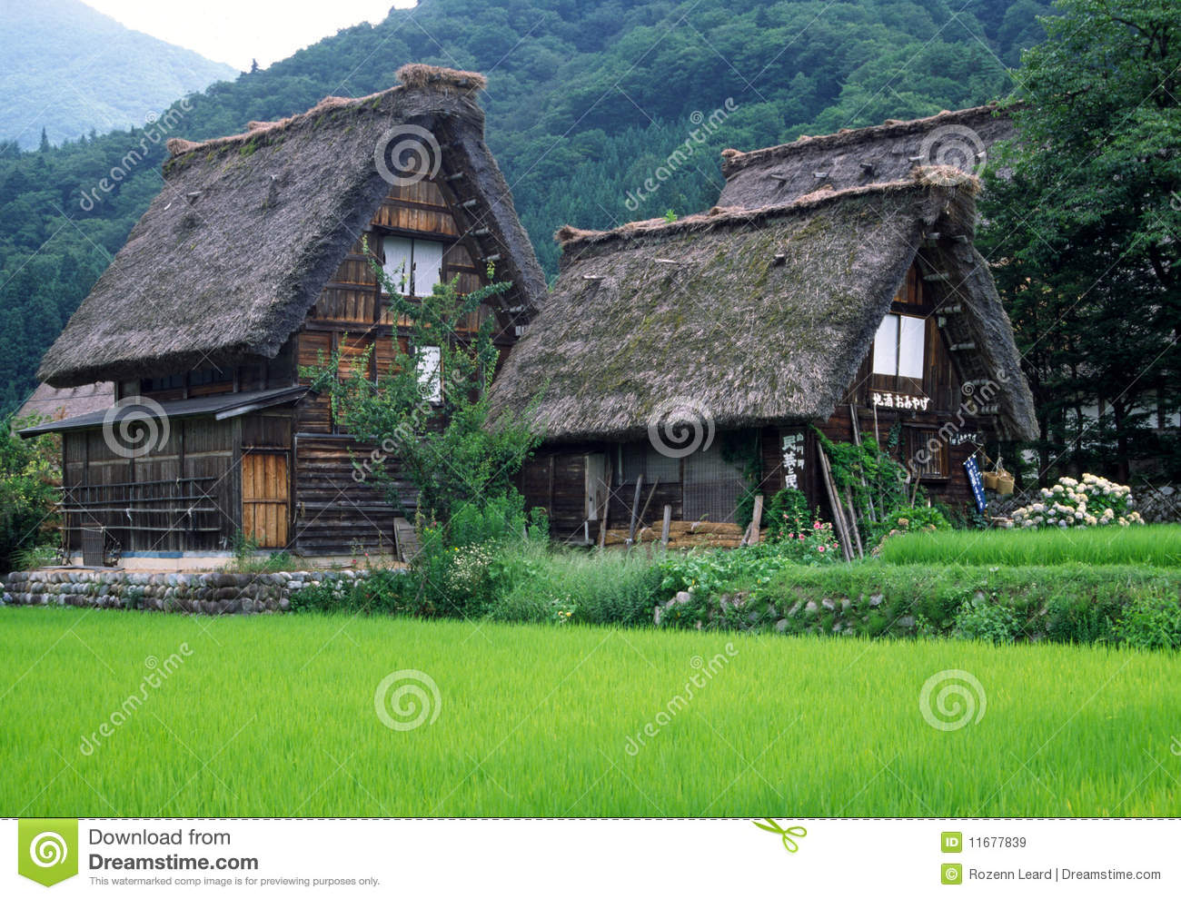 Houses traditionella japan
