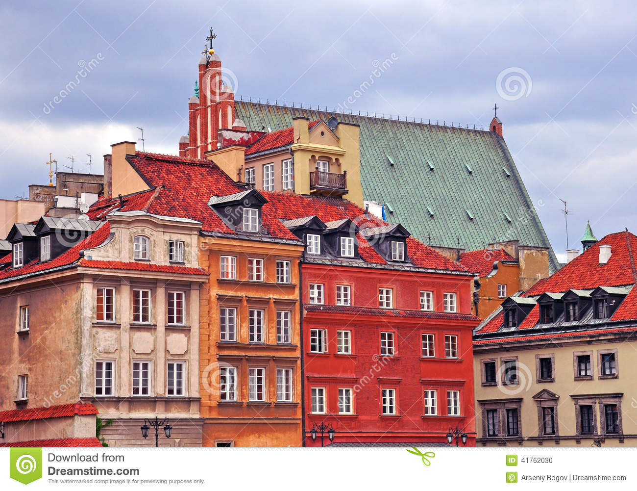 Houses of Warsaw
