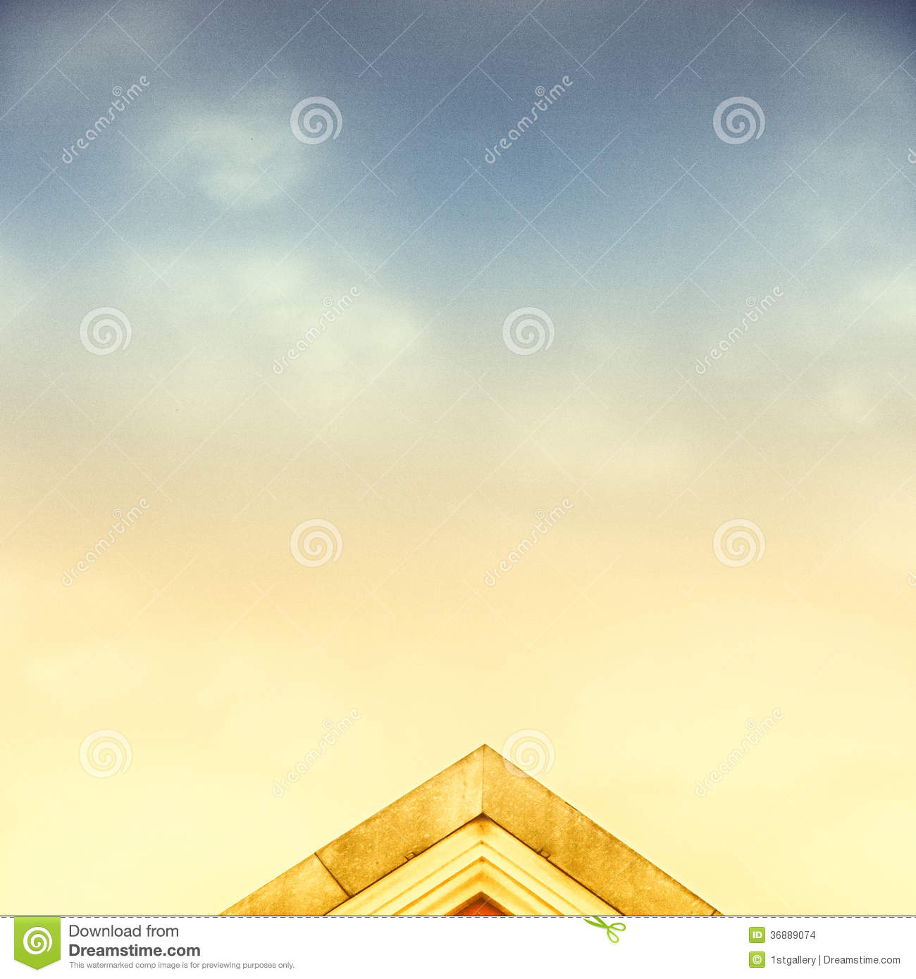 Download Housetop (69) fotografia stock. Immagine di nube, particolare - 36889074