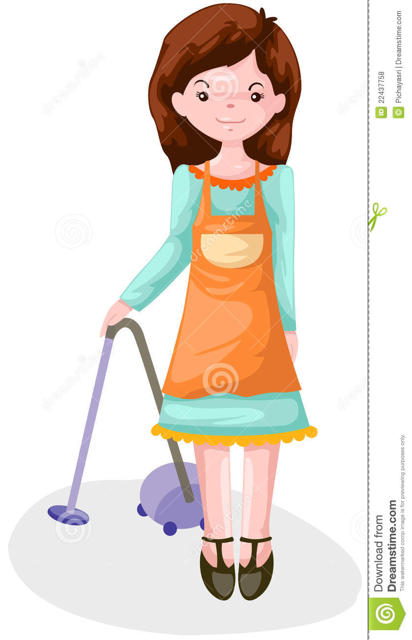 Housewife Stock Illustration Illustration Of Made