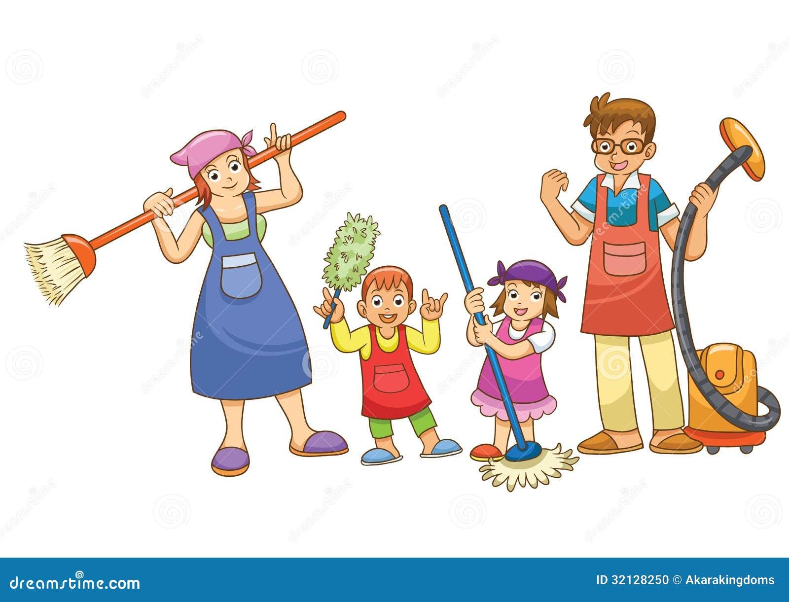 Illustration of housew...