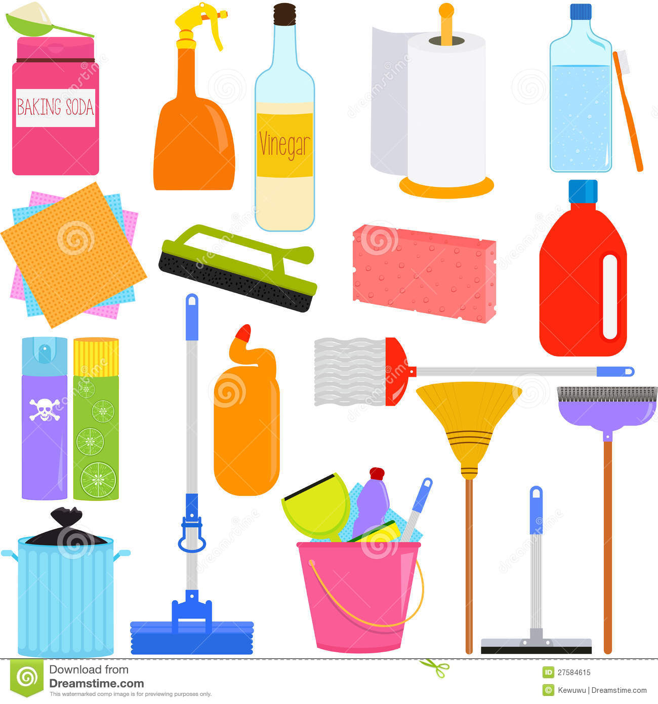 Household Cleaning Equipment Housework Tools and Cleaning