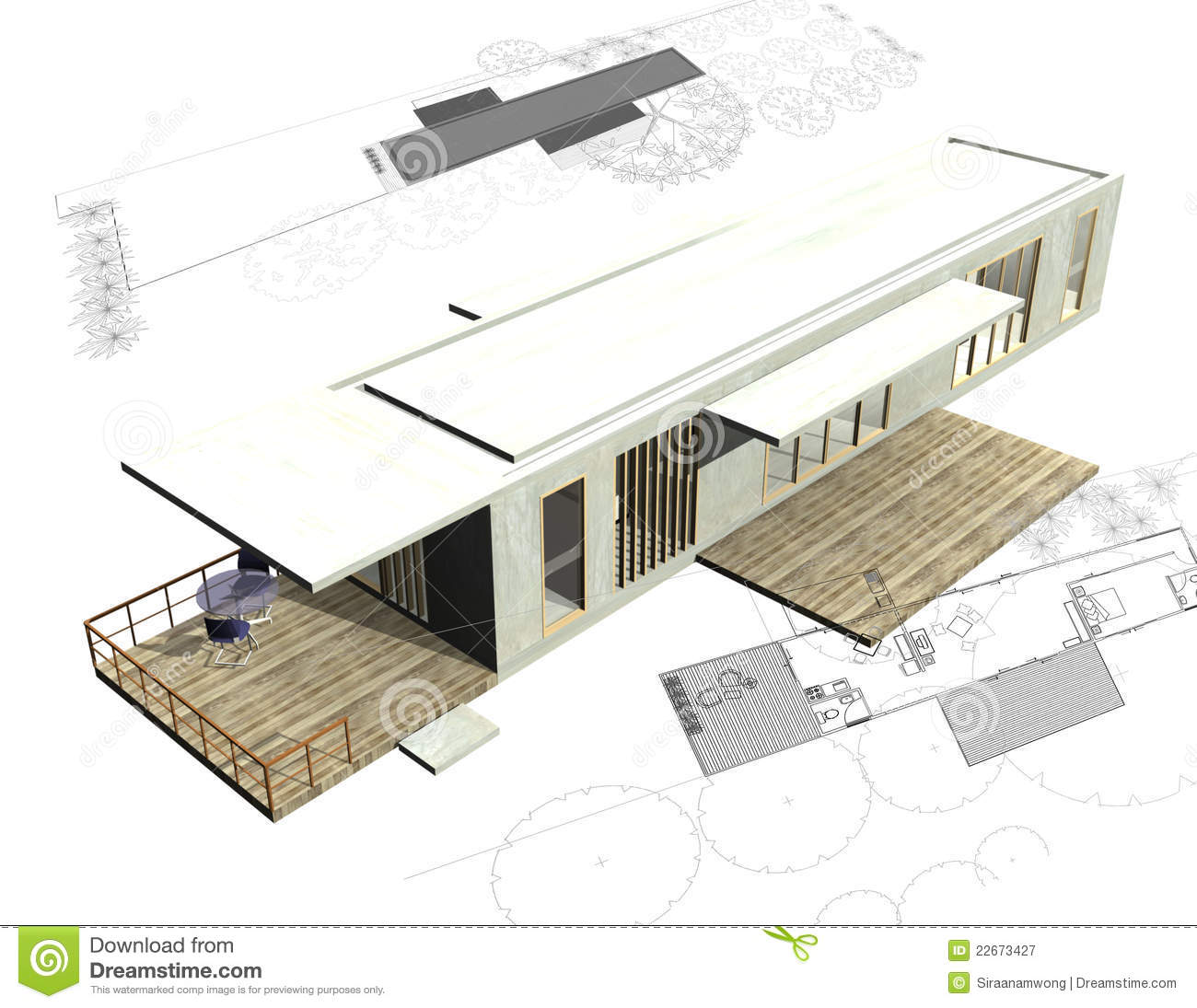 Housing architecture plans with 3d building stock for Build house online 3d free