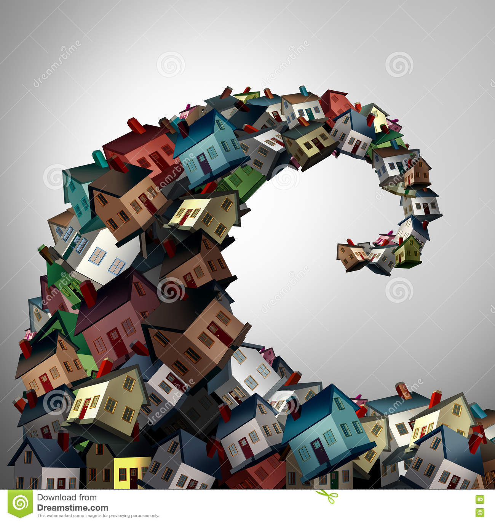Housing Crisis Concept