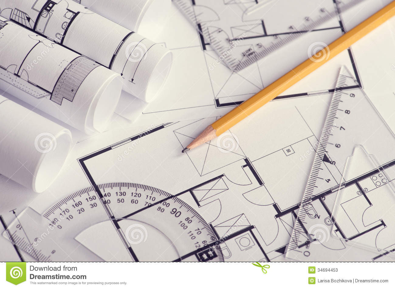 Housing Project Stock Photos - Image: 34694453 - ^