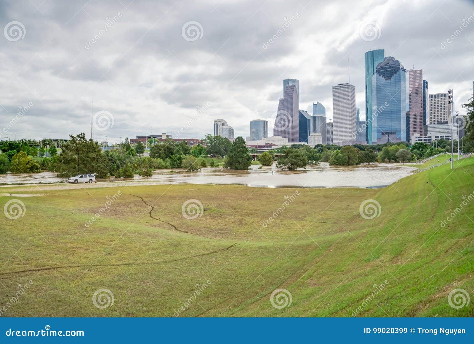 Houston Downtown Flood