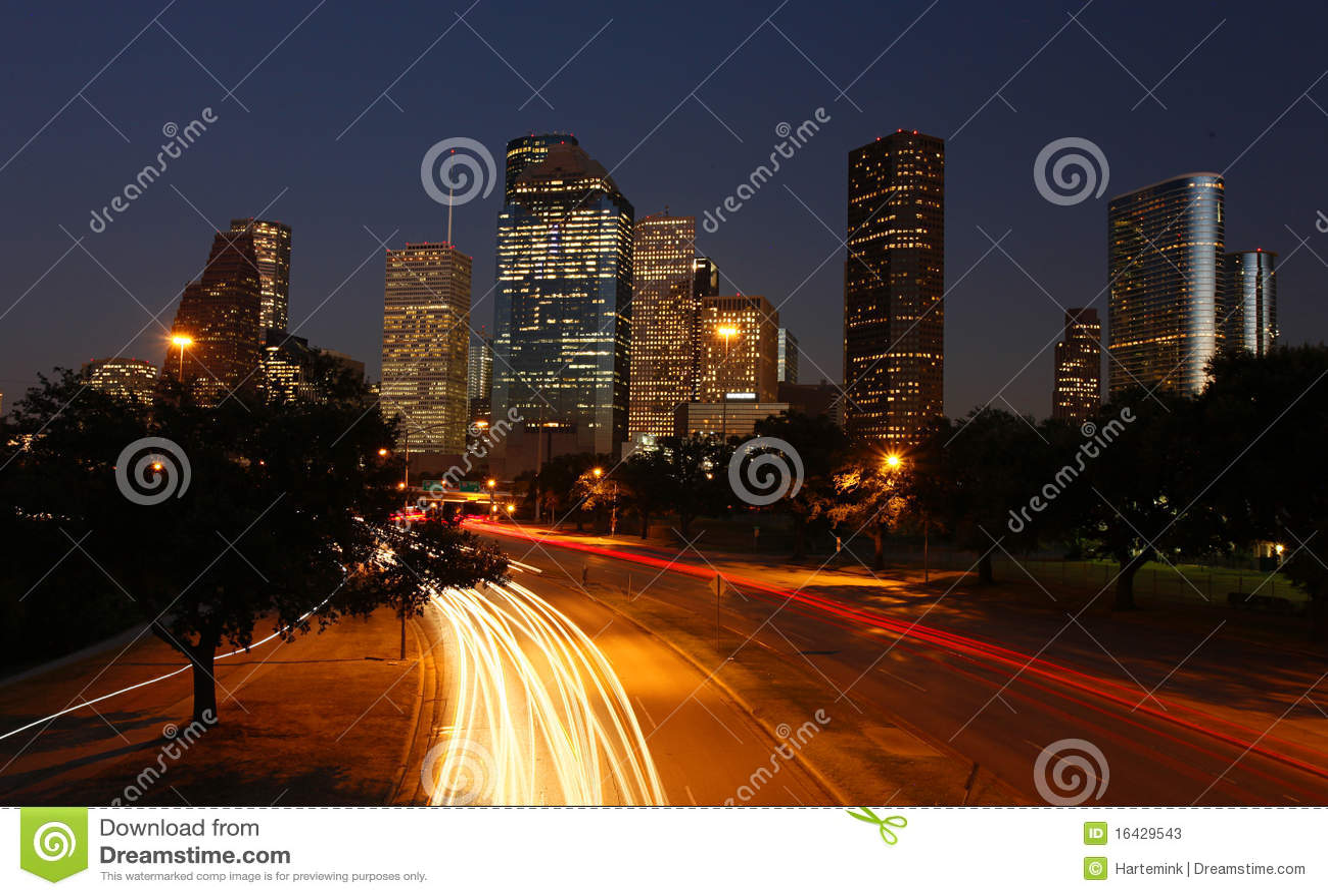 Houston natthorisont