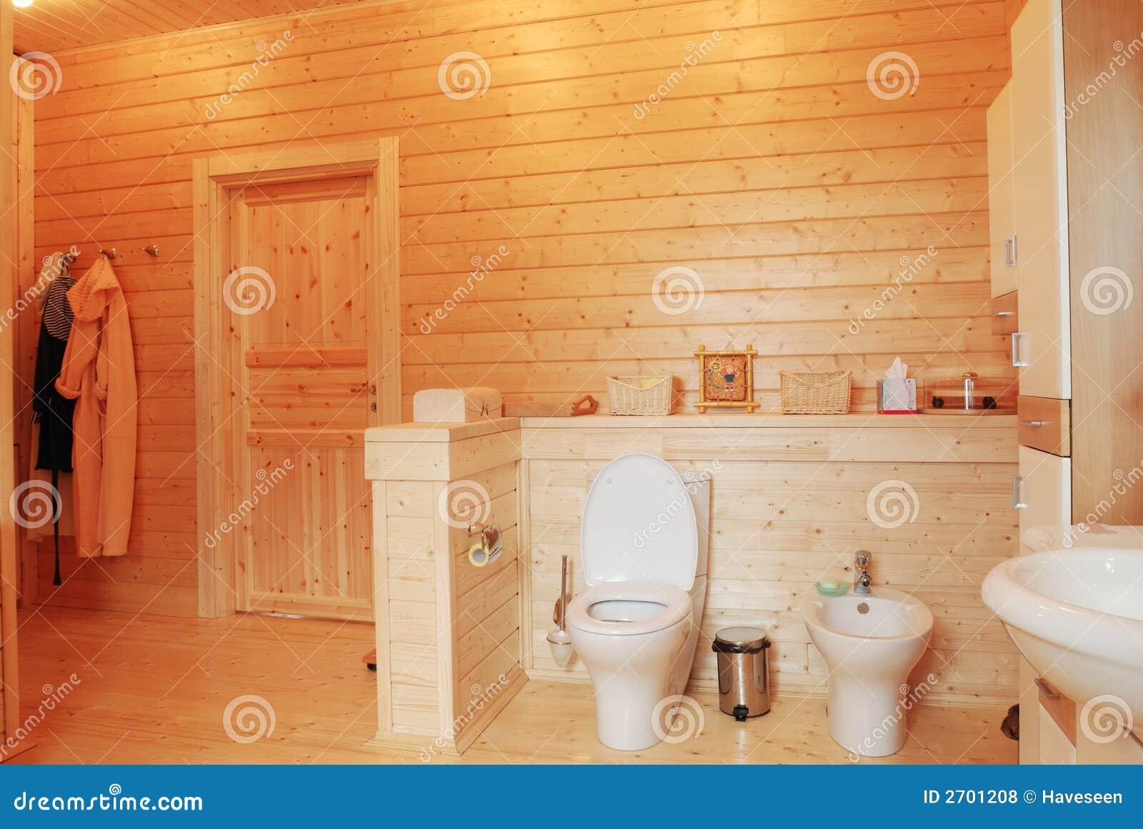 Houten badkamers stock foto. Afbeelding bestaande uit badkamers ...