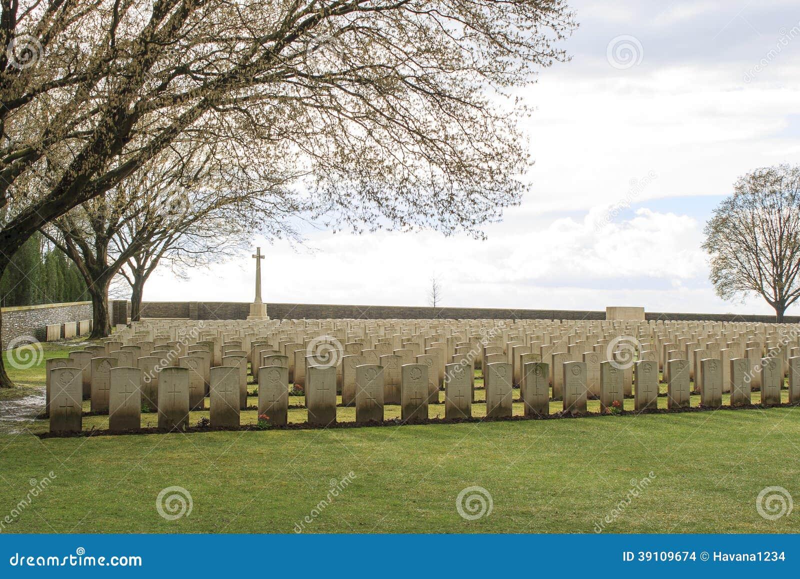 Houten Begraafplaats grote wereldoorlog één Vlaanderen België