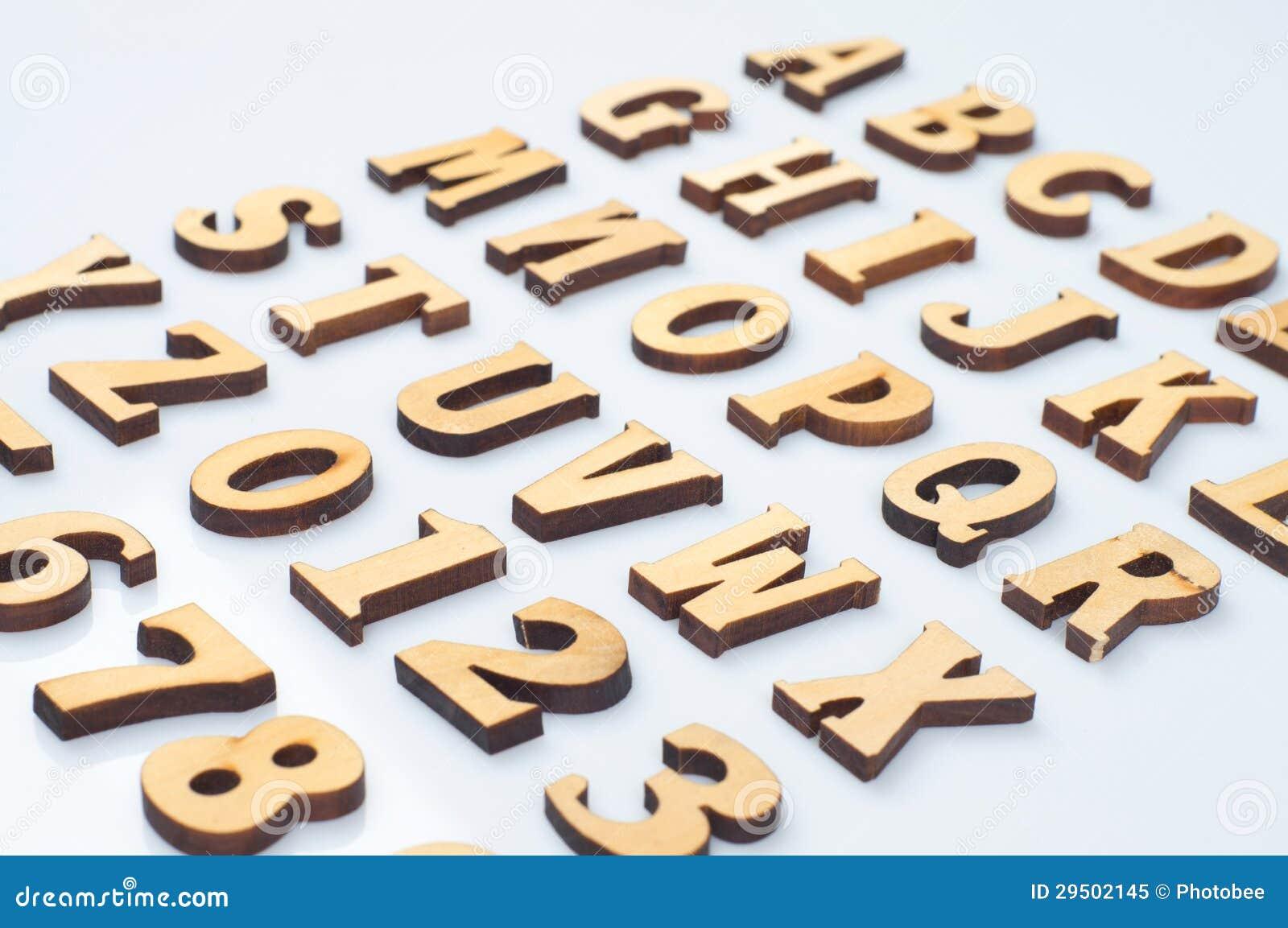 Houten brieven