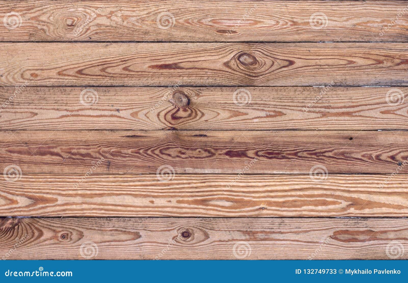 Houten bruine korreltextuur, hoogste mening van de houten achtergrond van de lijst houten muur