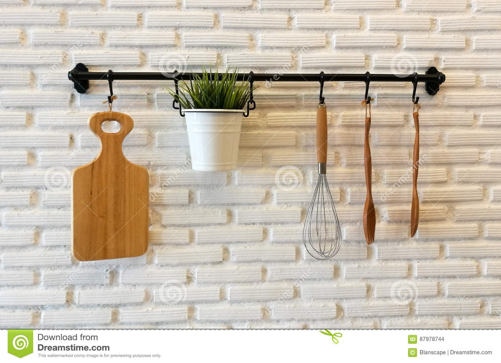 Keuken decoratie muur vlakte stip muur papierrol vinyl moderne d