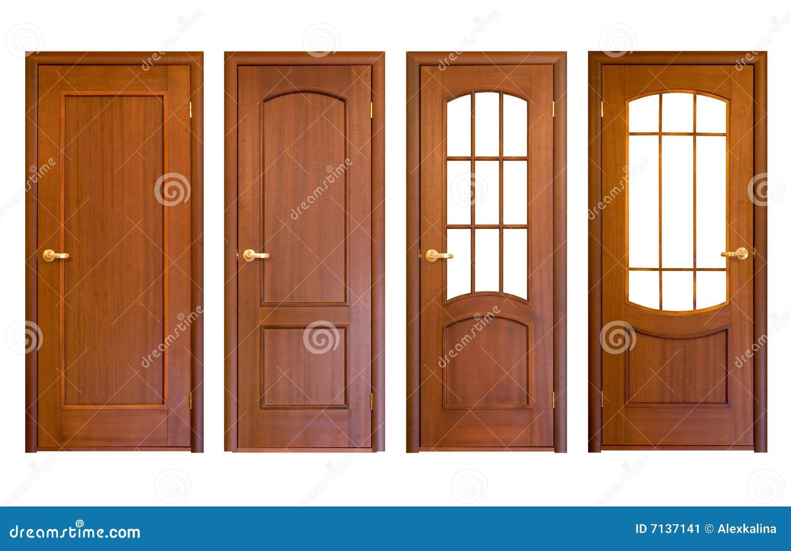 Houten deuren stock afbeelding afbeelding bestaande uit for Puertas de madera cordoba