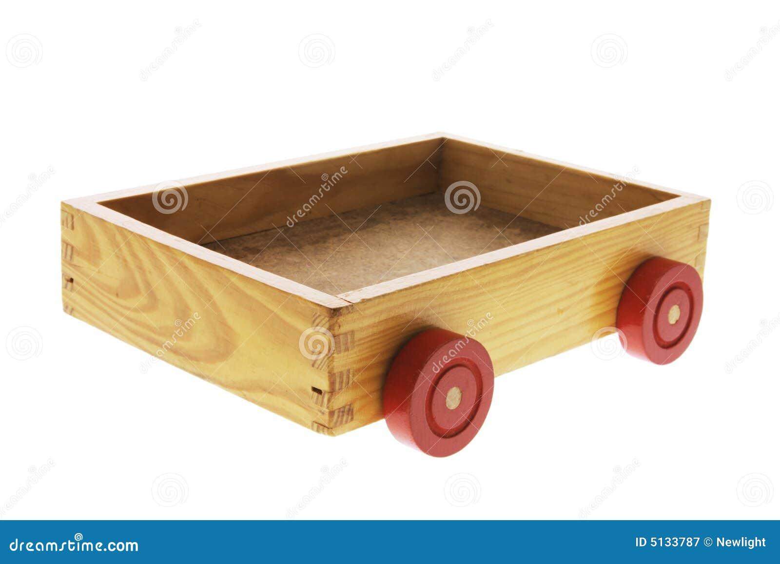 Houten doos met wielen royalty vrije stock fotografie afbeelding 5133787 - Houten doos op wielen ...