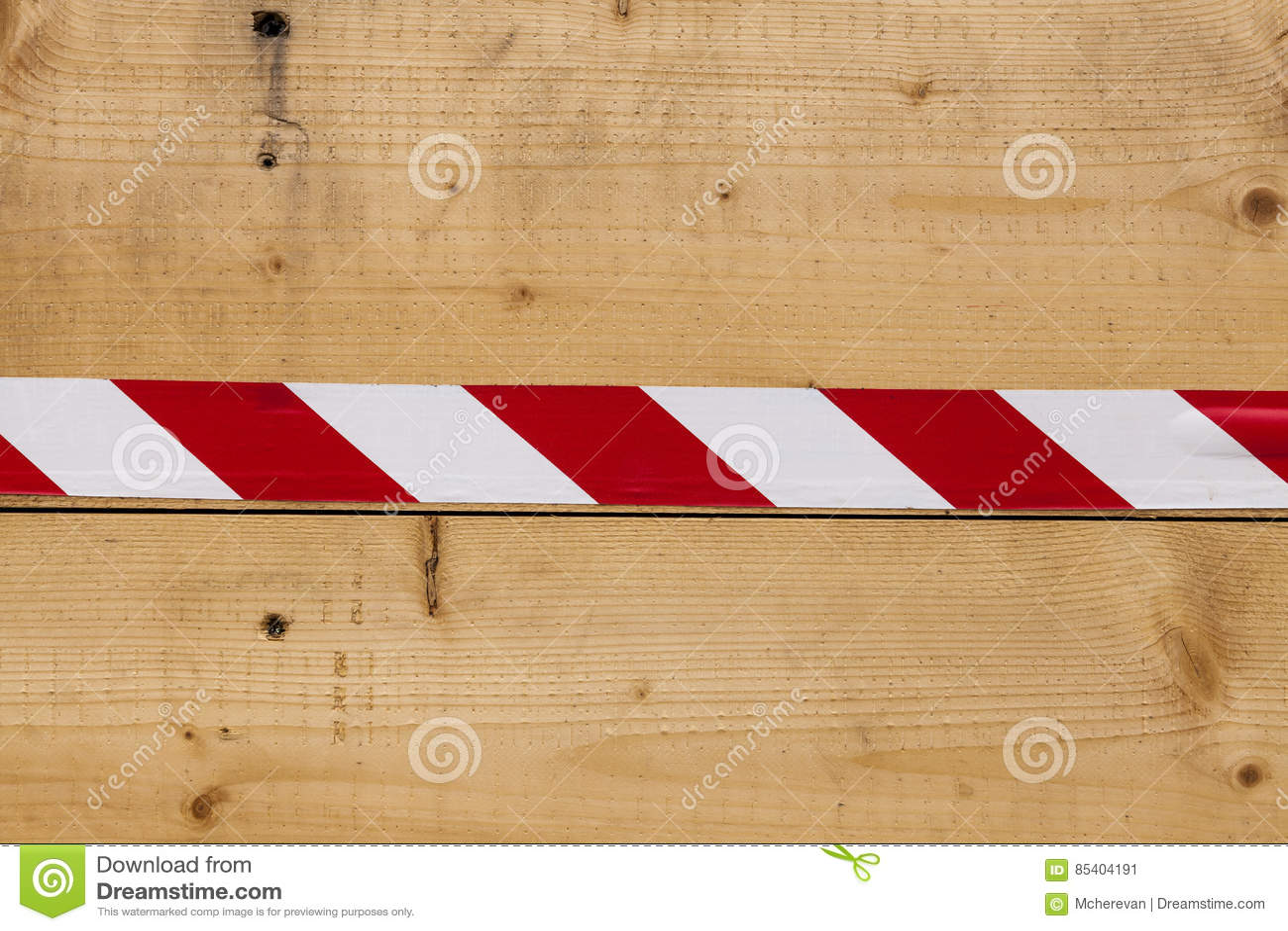Mooie Houten Plank Voor Aan De Muur.Houten Muur Van Planken Van As Met Een Helder Lint Rood Wit Mooie