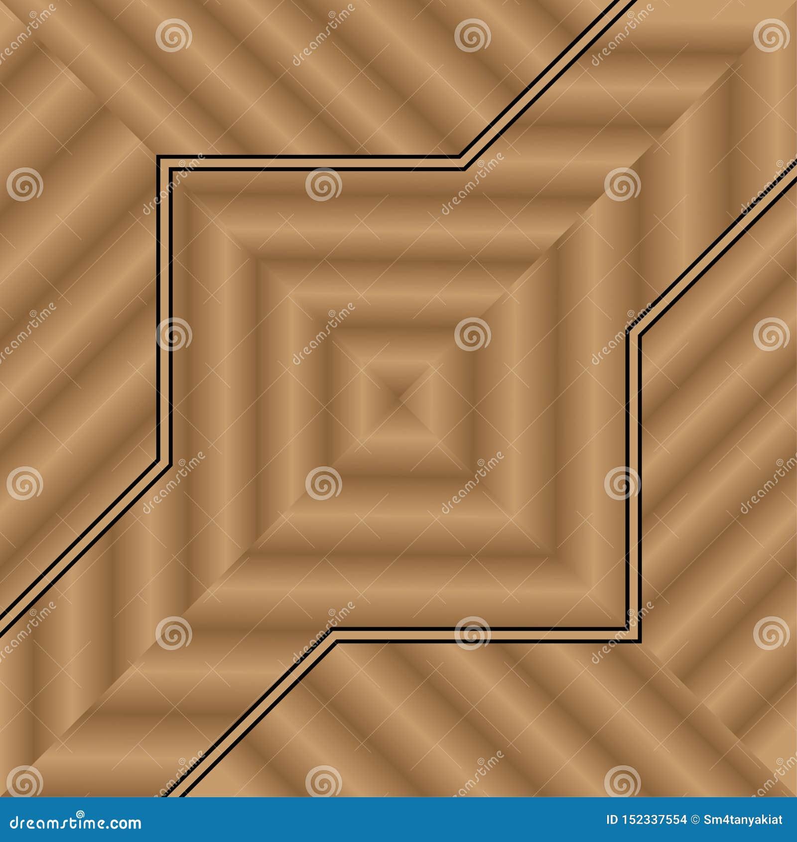 Houten ontwerp als achtergrond voor decoratie binnenvloer of muurhuis