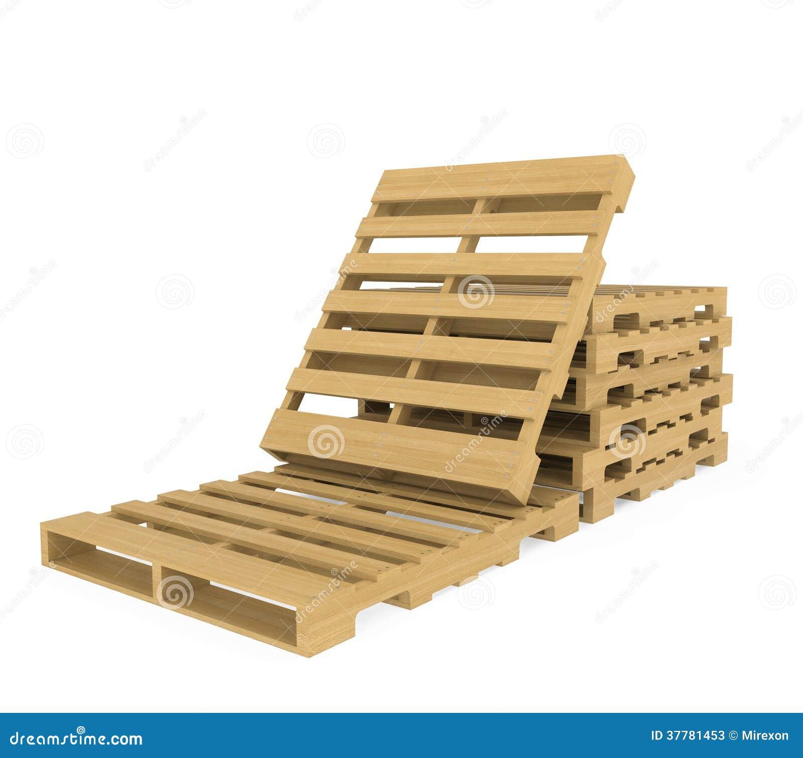 Houten pallet stock illustratie afbeelding bestaande uit industry 37781453 - Foto houten pallet ...