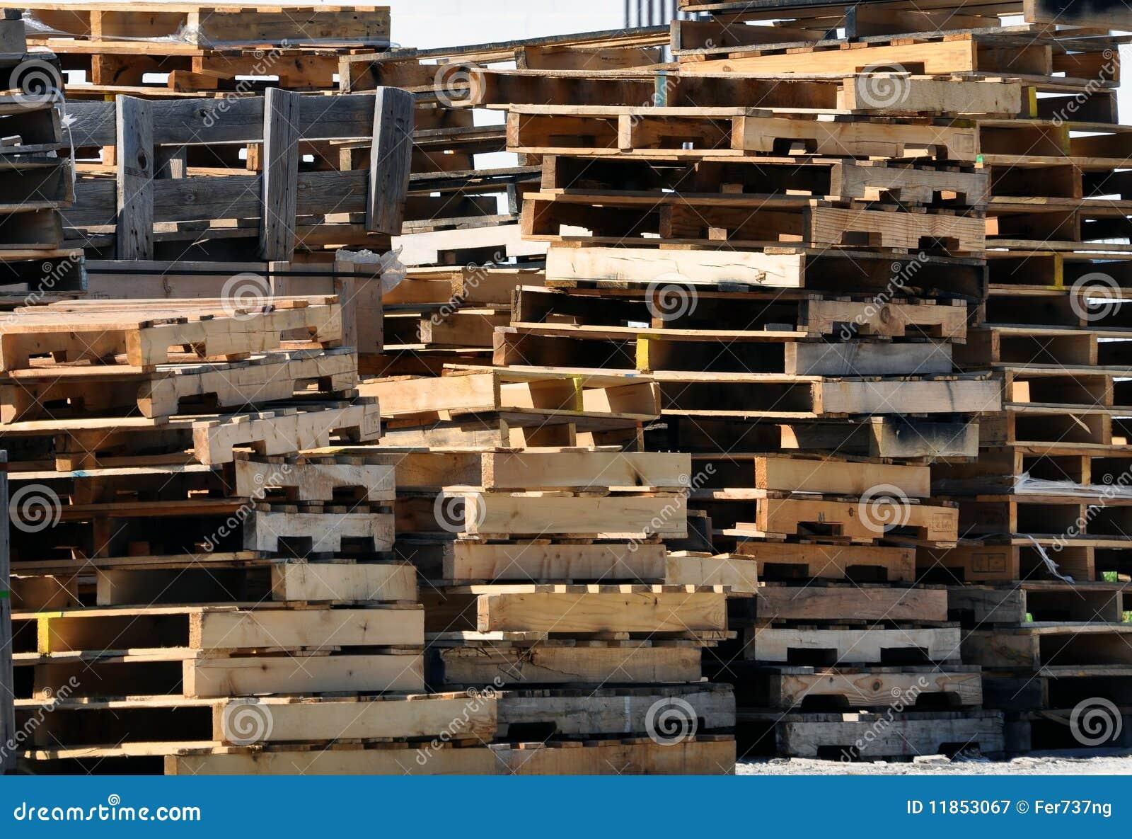 Houten pallets royalty vrije stock fotografie afbeelding 11853067 - Foto houten pallet ...