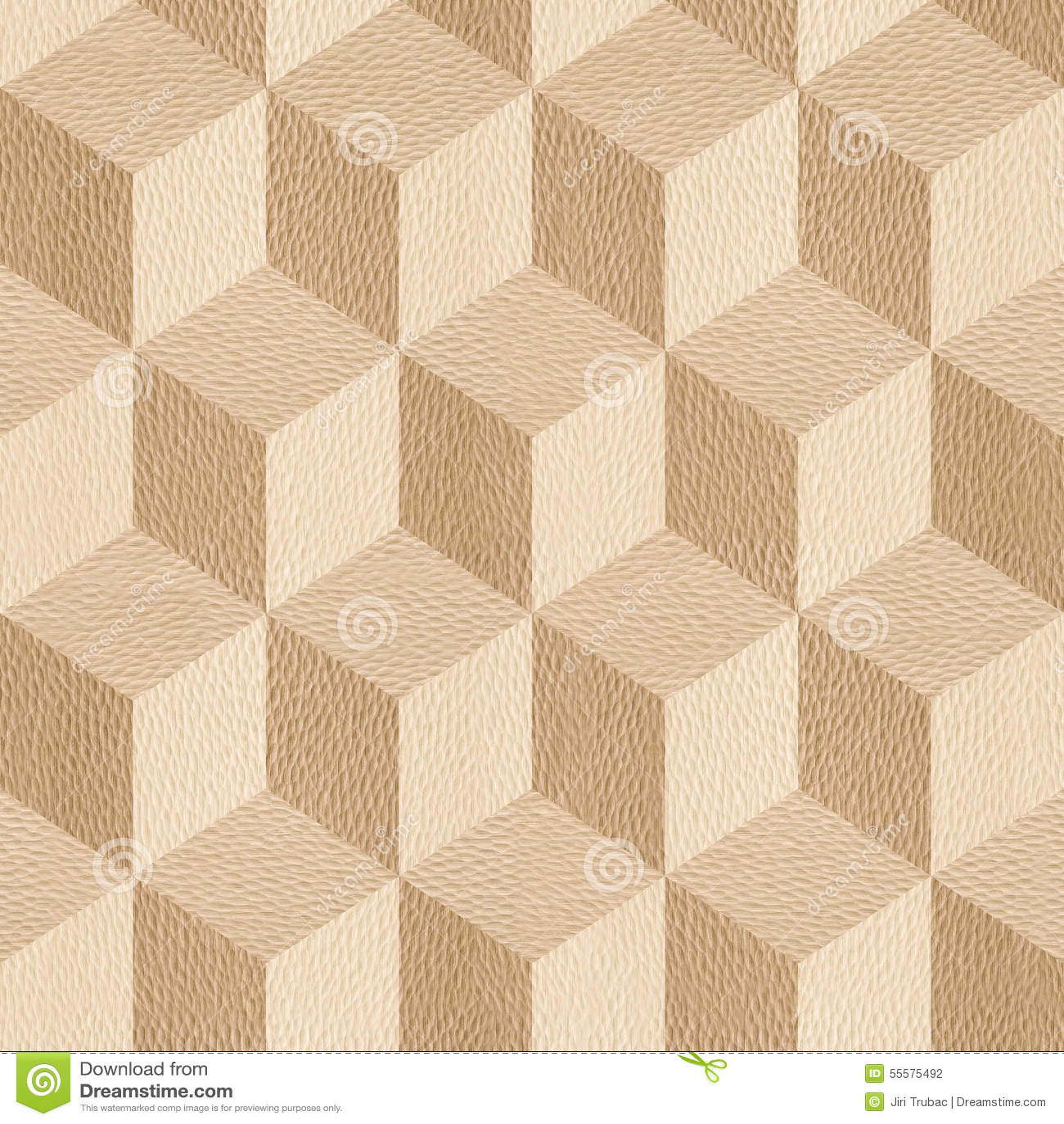 Houten parketblokken - naadloze achtergrond - Wit Eiken hout