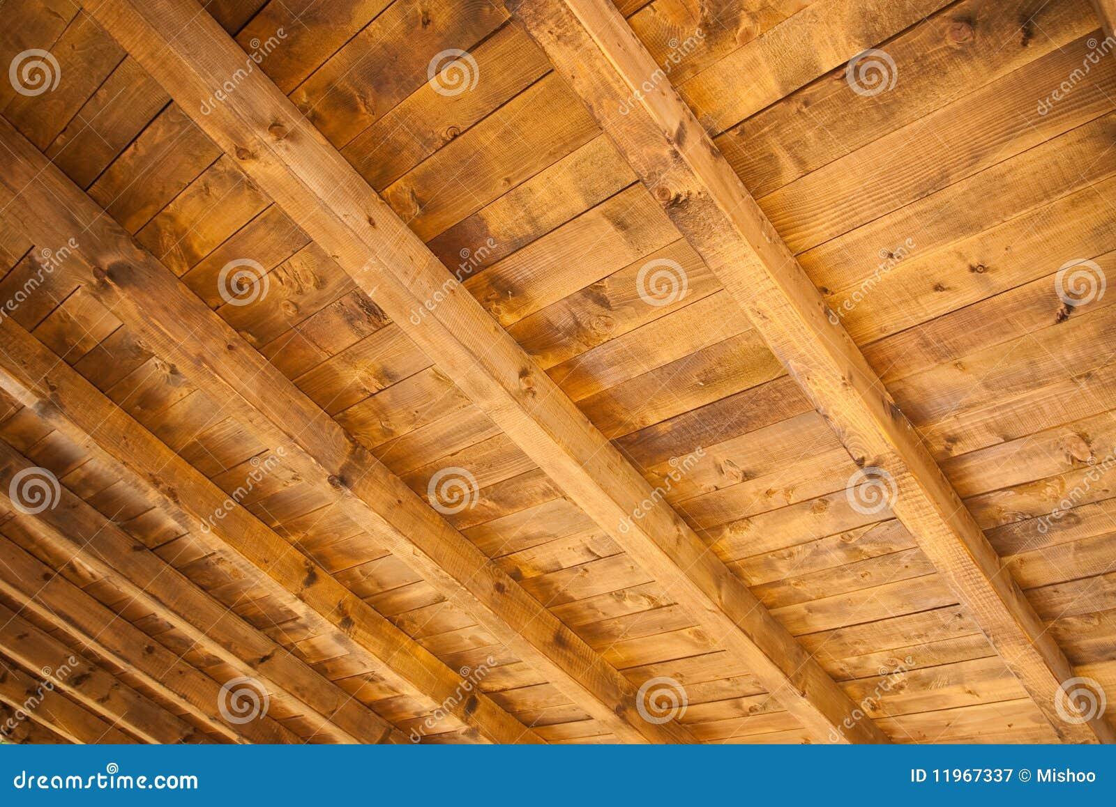 Houten plafond stock afbeelding afbeelding bestaande uit wijd 11967337 - Houten balkenplafond ...
