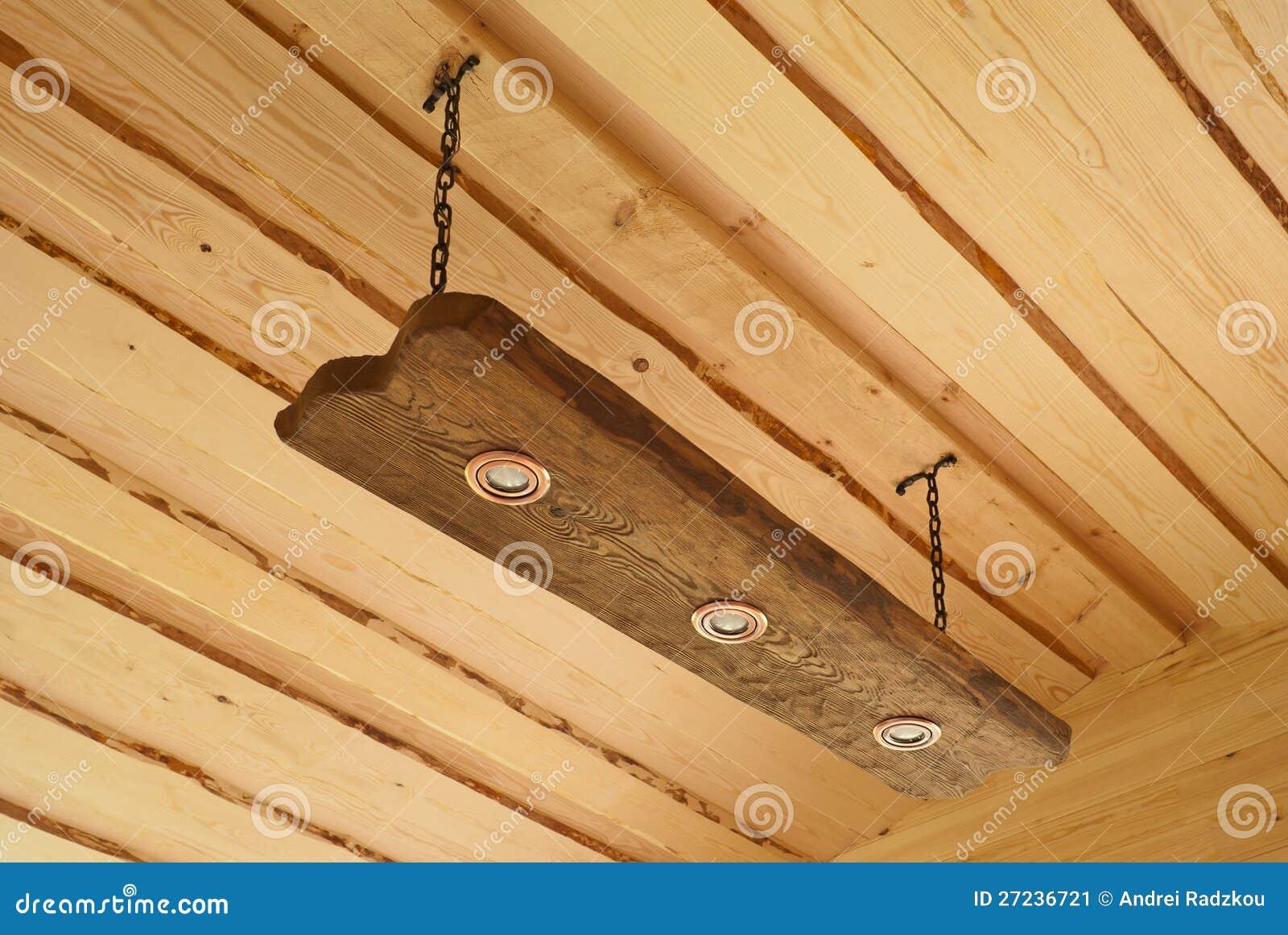 Как сделать потолок из дерево