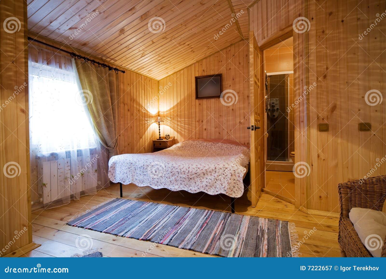 houten slaapkamer royaltyvrije stock fotografie  afbeelding, Meubels Ideeën
