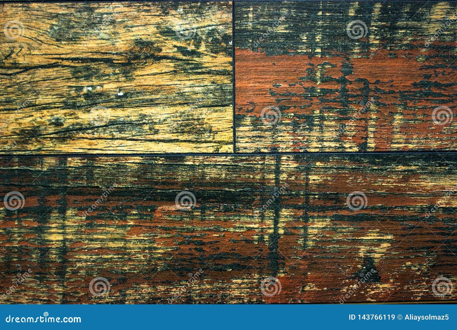 Houten Textuur en Patroon Als achtergrond