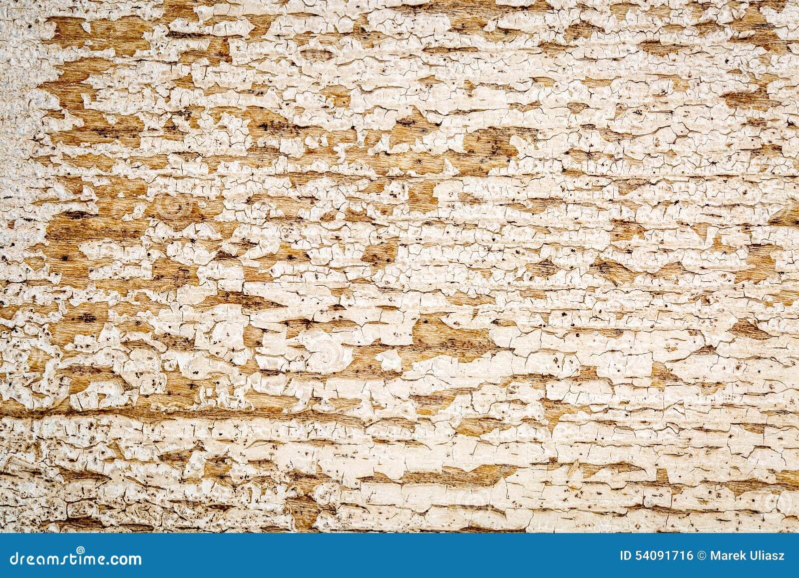 Houten textuur van de Grunge de witte geschilderde schuur