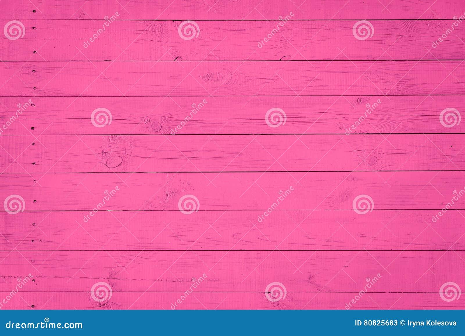 Houten Textuurachtergrond met natuurlijk patroon, purpere, roze kleur