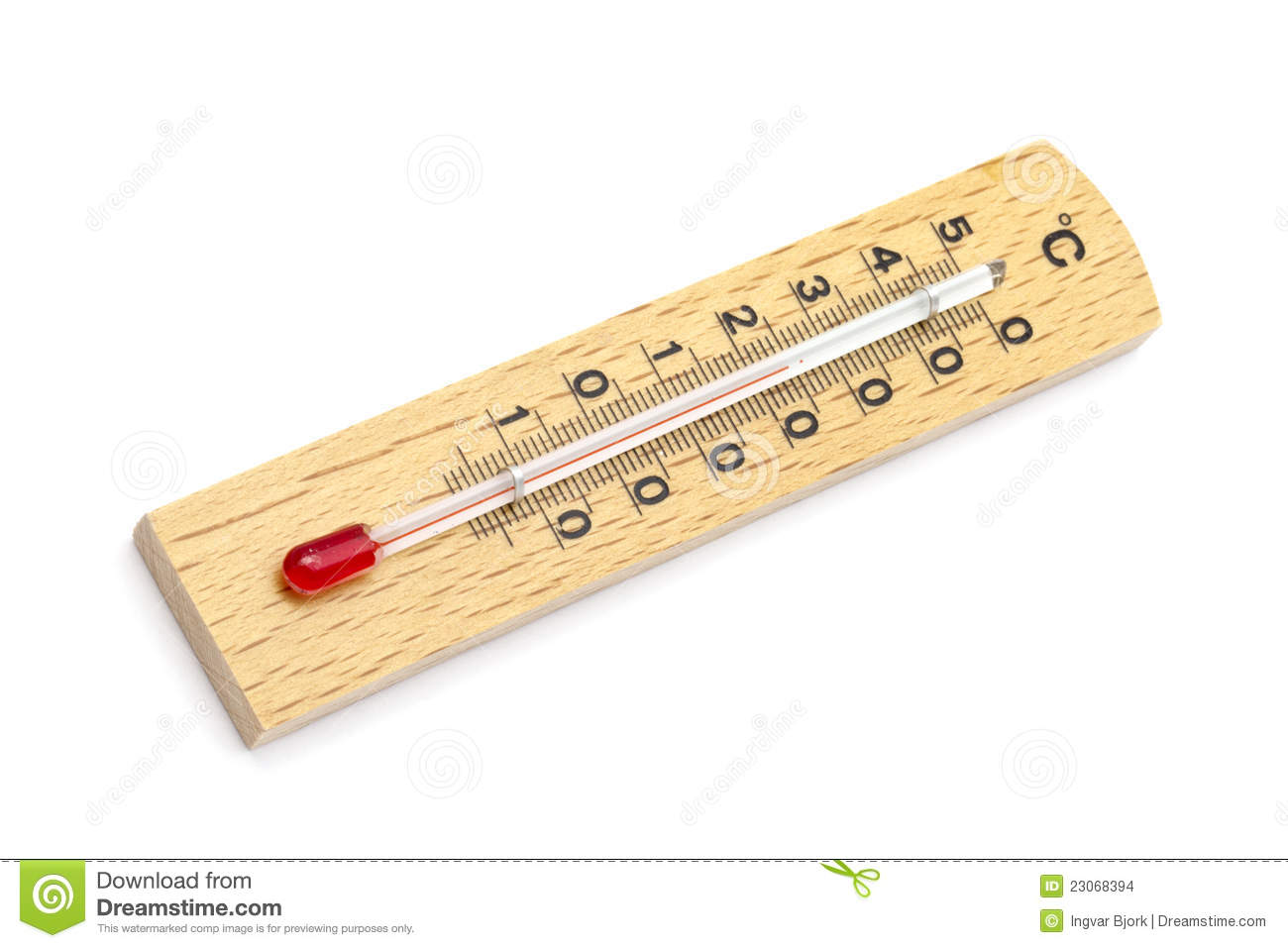 Houten Thermometer