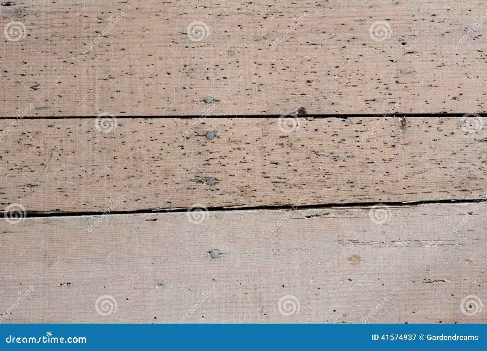 Gebruikte Houten Vloer : Houten vloer met houtwormsporen stock afbeelding afbeelding