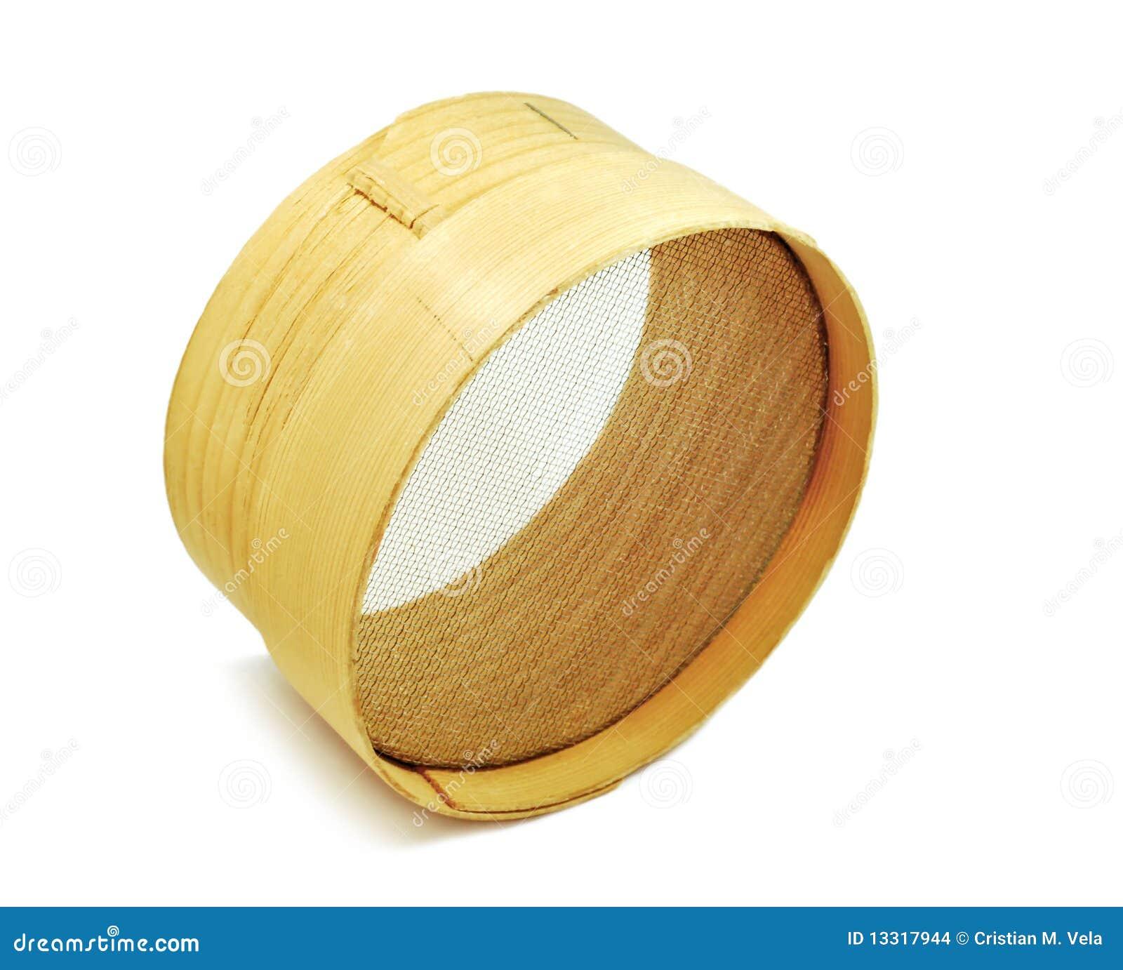 Houten zeef stock afbeeldingen afbeelding 13317944 - Scheiding houten ...