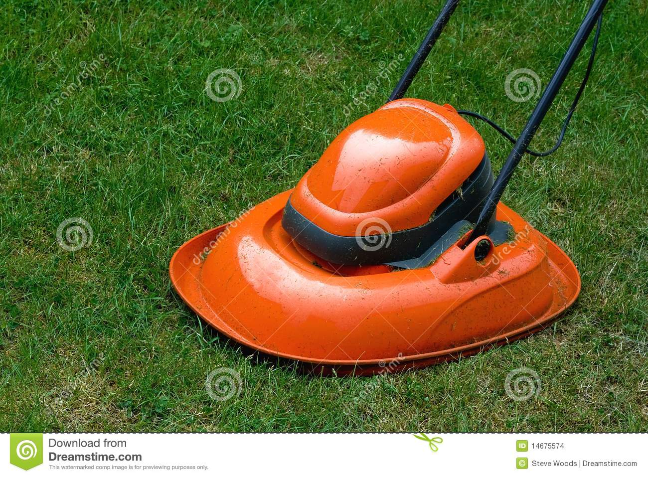 Lawn Mower Seat Trim : Hover lawn mower stock photo image of electrical
