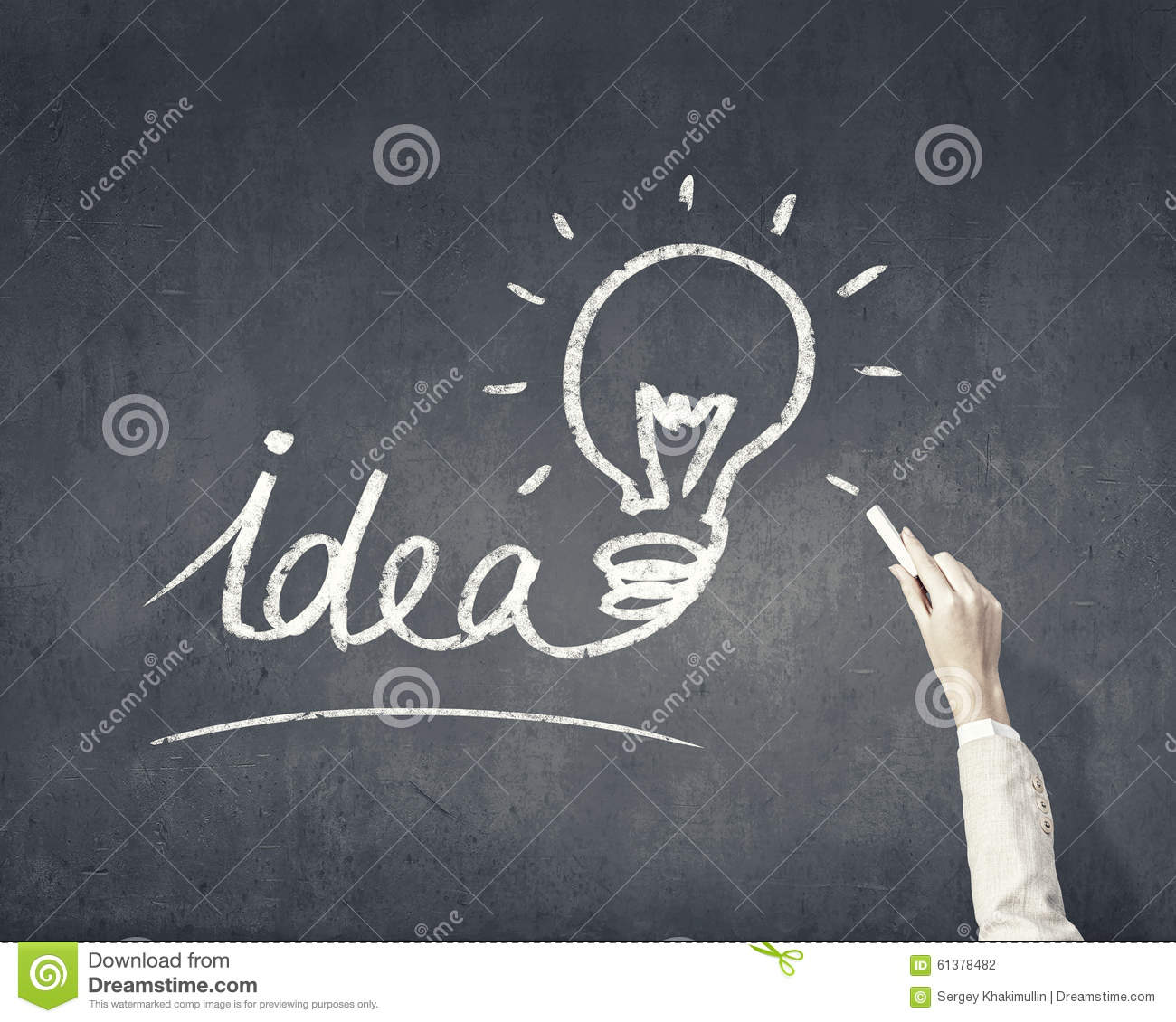 How to find good idea stock illustration. Illustration of