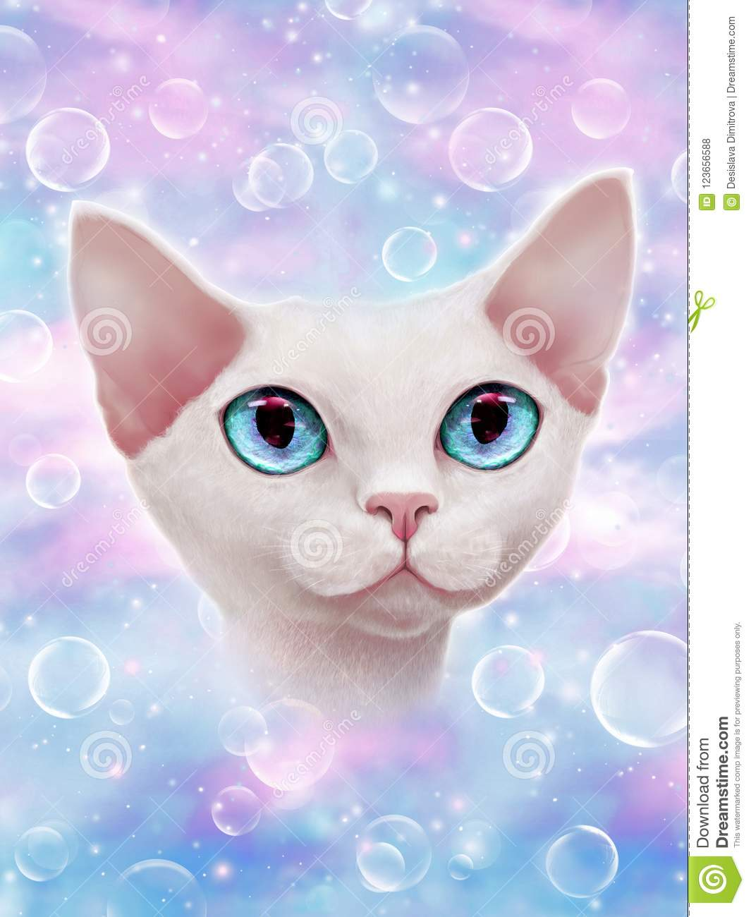 How to increase your positive vibes? Cosmic universe cat