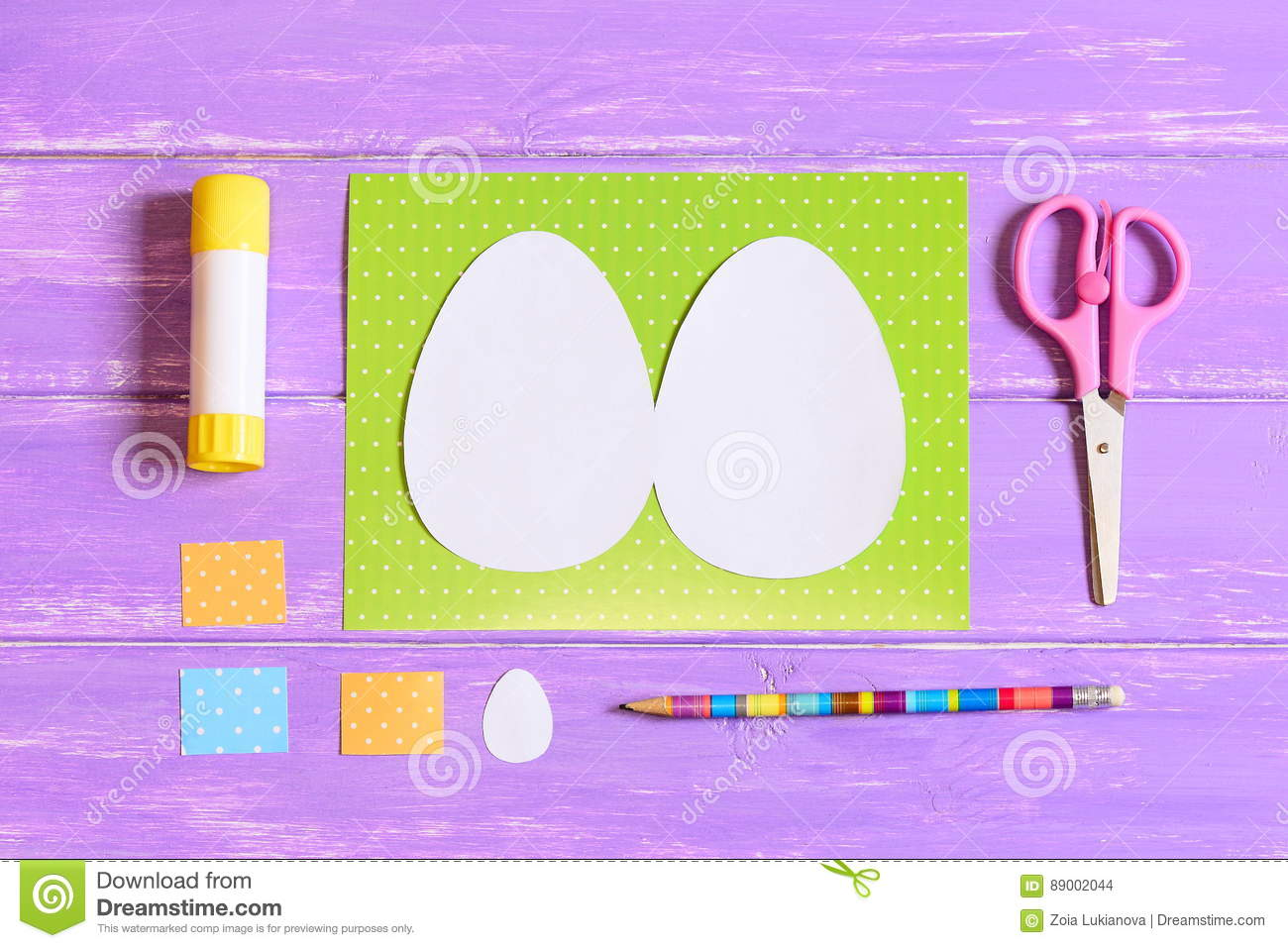 How To Make Easter Egg Greeting Card Step Tutorial Kids Easter