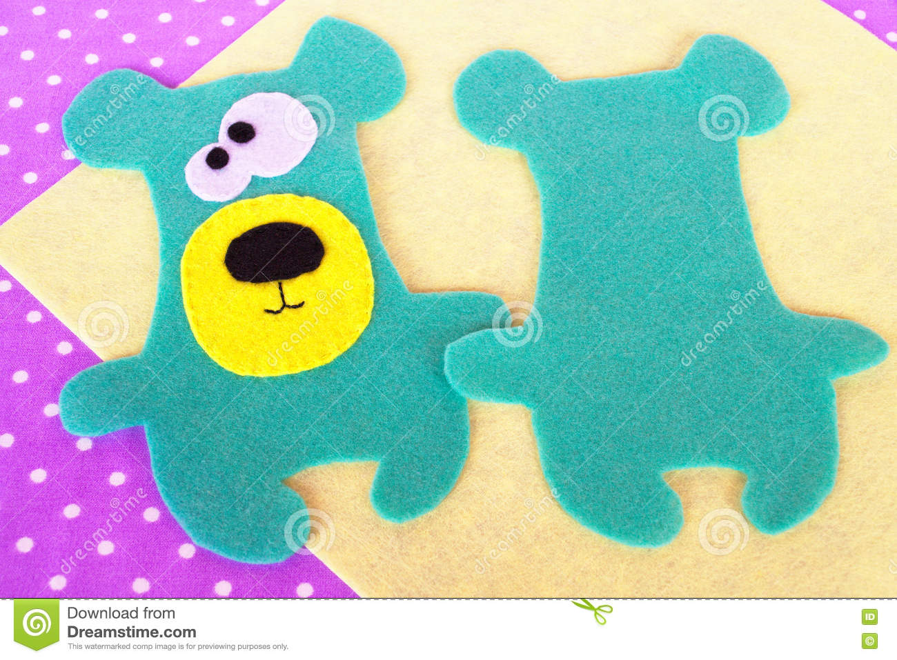 How to sew a teddy bear toy felt animal patterns sewing lesson how to sew a teddy bear toy felt animal patterns sewing lesson for children tutorial jeuxipadfo Image collections