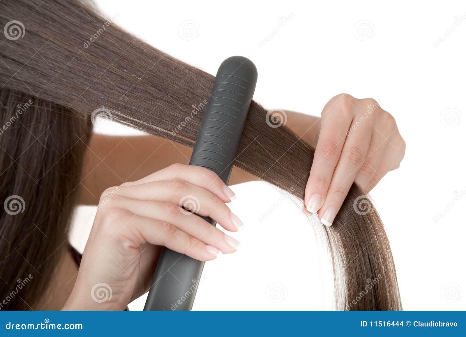 Как без утюжка выпрямить волосы - 7 лучших способов с фото 74