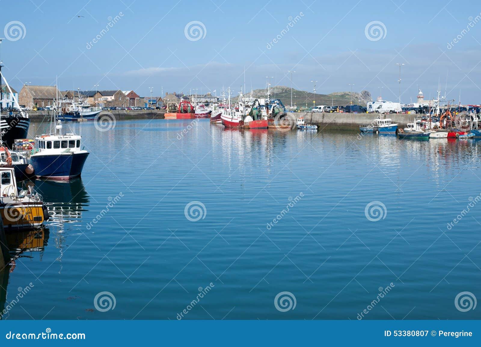 Howth港口,都伯林,爱尔兰