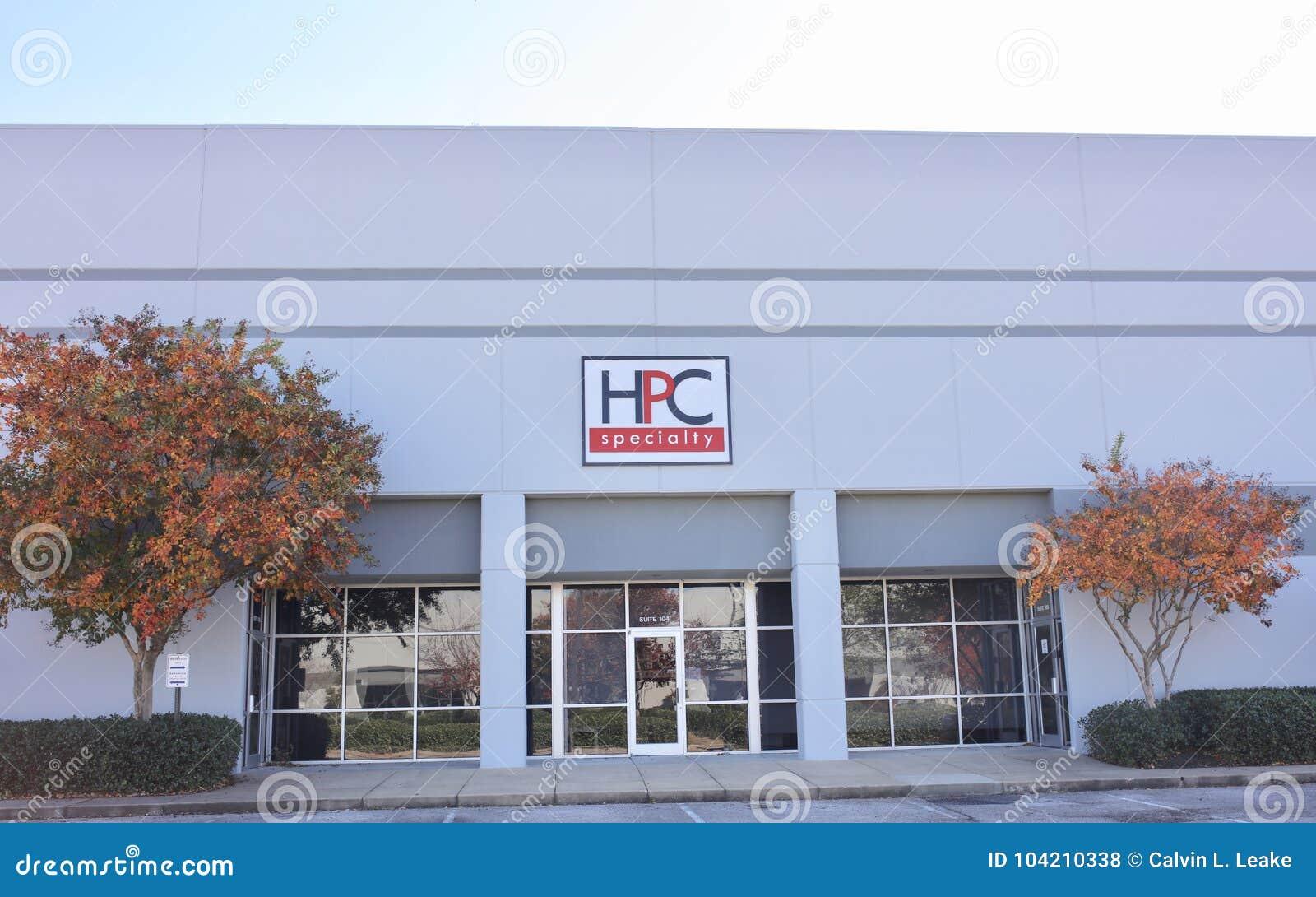 HPC Specialty Pharmacy, Memphis, TN Editorial Stock Photo - Image of