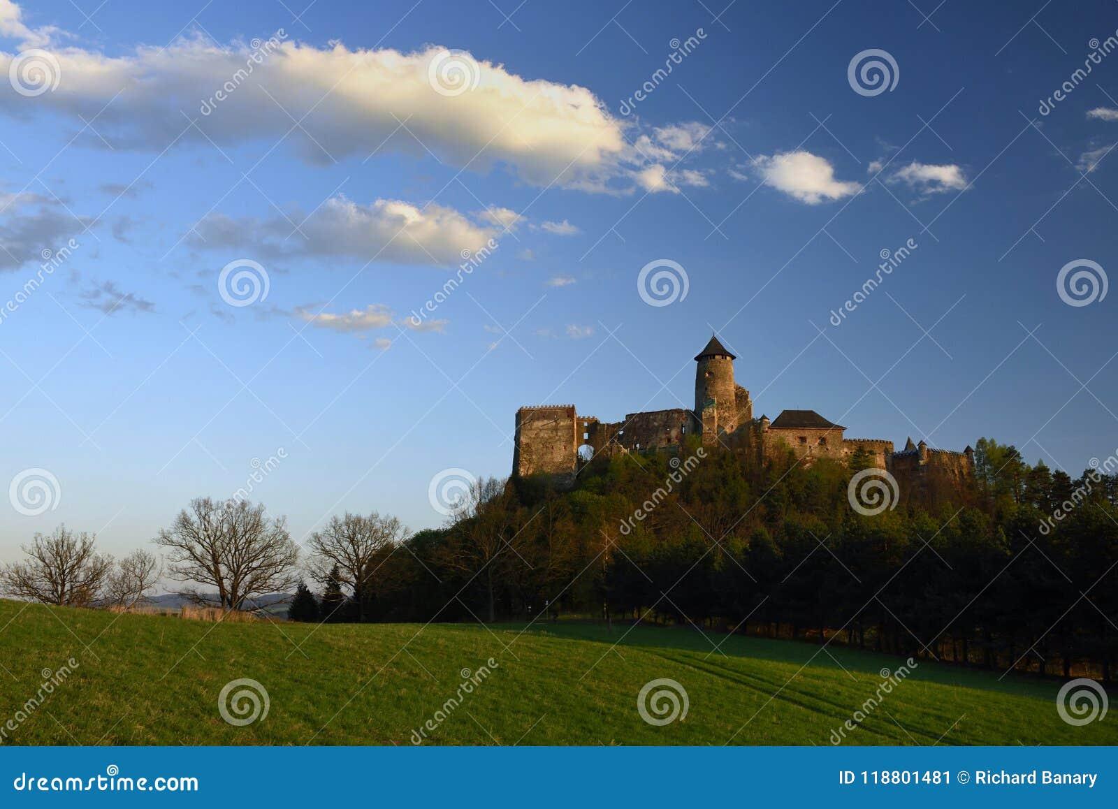 Hrad de Lubovniansky, região de Spis, Eslováquia