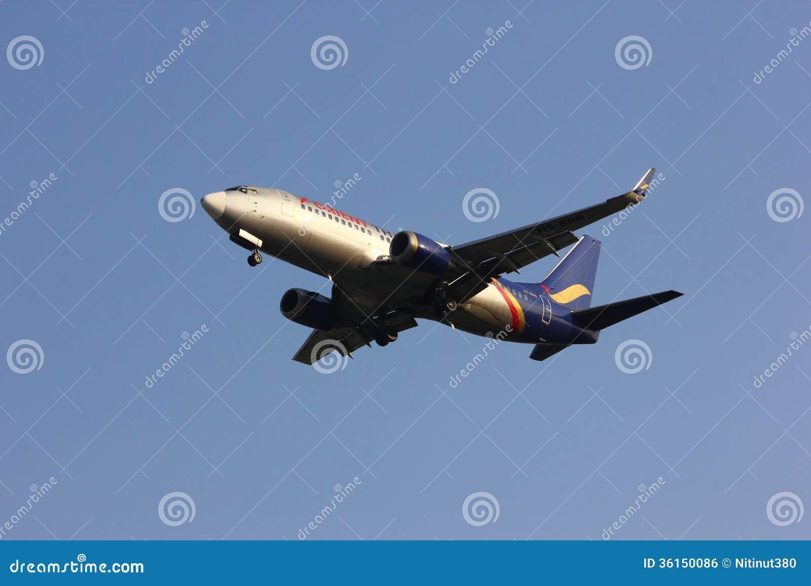 HS-BRB Boeing 737-300 Orient Thai Airlines